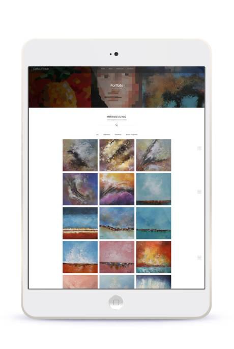 Artistic Web Portfolio